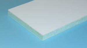 Сэндвич-панель ПК-12 армирована стекловолокном, имеет одну декоративную поверхность из гелевого покрытия. Выбор цвета по каталогу RAL. Поверхность может изготавливаться с мелкой шагренью, глянцевой или матовой.